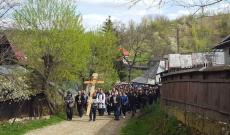 Tímár Karina által készített kép- húsvéti keresztút Moldvában