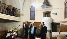 Varga Miklós koncertje a kaposkelecsényi református templomban