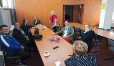 beszélgetés, egyesületi tagok