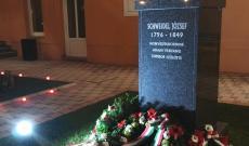 A Magyar Polgári Kaszinó udvara, a megemlékezés utolsó helyszíne.