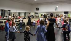 Szőttes játszóházi tánc