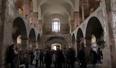 Zborov- Szent Zsófia templom felújítás alatt