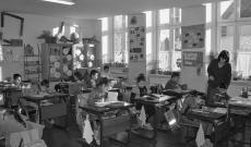 Tanóra a betfalvi alsó tagozatos általános iskolában