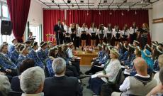 A 11-es diákok és osztálynevelőik ünnepi búcsúja