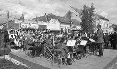 '48-as ünnepség Székelykeresztúron - Ilford Delta 400