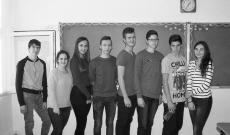 Székelykeresztúri gimnazisták - Ilford Pan 400