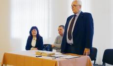 Kacsó András köszönti a díjazottakat - Forrás: Pallay Katalin, www.karpatalja.ma