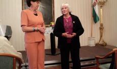 Wurst Erzsébet, a Kaláka-Club elnöke szólt a Petőfi-programról is