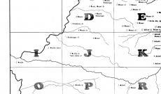 RMNyA térképlap kutyaűző szavakkal