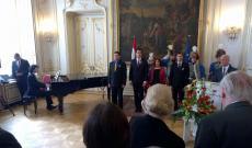 Március 15-ei megemlékezés a Bécsi Magyar Nagykövetségen