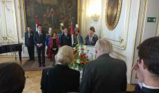 Március 15-ei megemlékezés - Dr. Perényi János beszéde