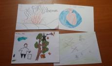 válogatás a gyermekek rajzaiból