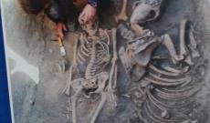 lovas sírokat is találtak