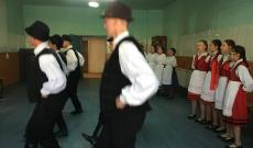 Magyar néptánc bemutató
