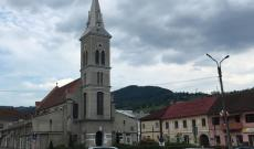 A református templom kívülről