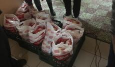 Többféle tartós élelmiszer került a kiosztott csomagokba