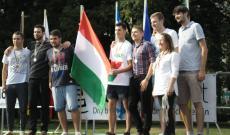 A magyar csapat a teremfoci-bajnokság ezüstérmese