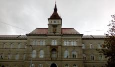 Az olmützi városi bíróság épülete, ahol Batthyány raboskodott