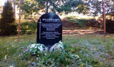 Gróf Esterházy János emléktáblája Mírovban