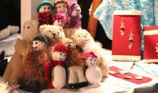 Kötött játékok a karácsonyi vásárra