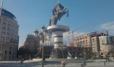 Nagy Sándor szobra