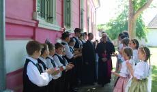 Nuncius fogadása