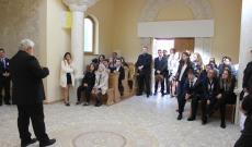 A verseny résztvevői  dr. Molnár Imre vezetésével elzarándokoltak az Esterházy-kápolnához is, ahol lerótták tiszteletüket a mártírpolitikus emléke előtt