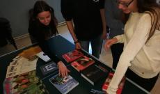 A dobogós csapatok kedvük szerint válogathattak az értékes könyvek közül