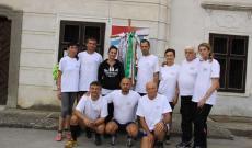 Az Esterházy János emlékmaraton futói