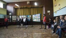 Kiállítás nyílt a hertelendyfalvi gyermekek rajzaiból