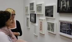 Szőke Erika kiállításán