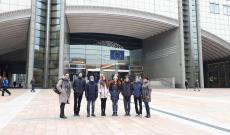 Európai Parlament épülete Brüsszelben
