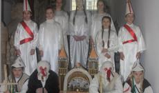 Az ungvári Csüllő néptáncegyüttes betlehemező csapata