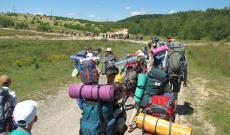 Érkezés a nádaspataki táborba
