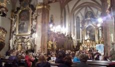 Belvárosi Szent Henrik templom tökéletes helyszínt és akusztikát biztosított