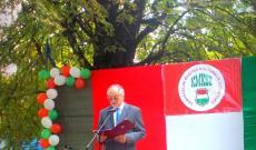 Szalipszki Endre főkonzul úr beszéde