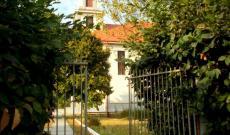 A templom bejárata