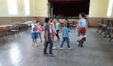 Utánpótlás csoport első táncpróbája