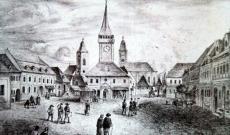 Abrudbánya piactere, 1848. előtti állapot