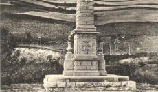 Az áldozatok tiszteletére emelt emlékmű Preszákánál (Ompolygyepű)