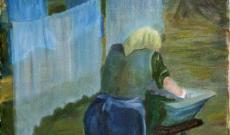 Illusztráció József Attila, Mama című verséhez