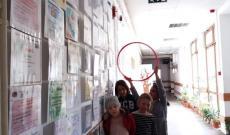 A medgyesi Báthory iskolában