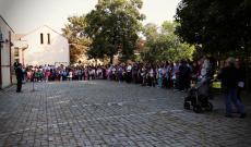 Tanévnyitó a medgyesi magyar iskolában