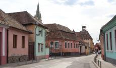 Helyzetkép Medgyesről - Óvárosi utcák