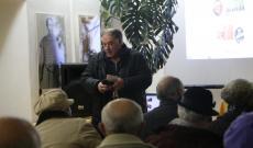 Sárközi Sándor piarista atya előadása Medgyesen