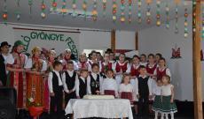 Miriszló Gyöngye Fesztivál - közös énekléssel kezdődött a gálaműsor