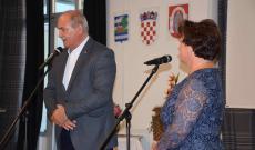 De Blasio Antonio eszéki főkonzul és Jakumetovic Rozália elnökasszony