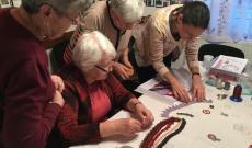 Gyöngyfűző szakkör a Vukovári Magyarok Otthonában