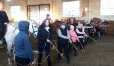 Barantás lovasíjász nagymama Kárpátalján