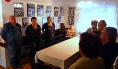 A magyarországi küldöttség a vukovári magyarok házában
